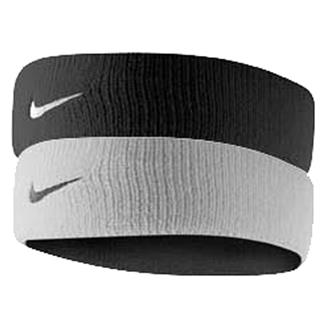 NIKE Dri-FIT Home & Away Headband White / Black