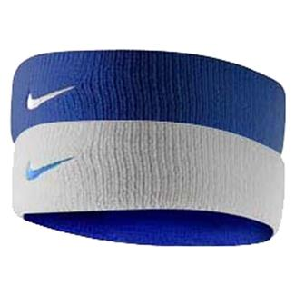 NIKE Dri-FIT Home & Away Headband Varsity Royal / White