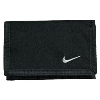 NIKE Basic Wallet Black / White
