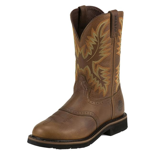 Men S Justin Original Work Boots 11 Quot Superintendent