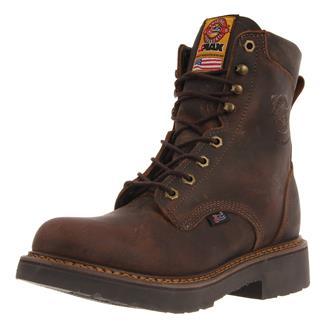 "Justin Original Work Boots 8"" J-Max Round Toe Rugged Bay Gaucho"