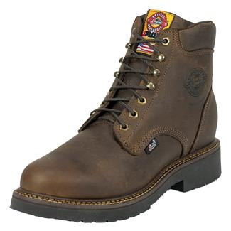 "Justin Original Work Boots 6"" Balusters Bay Round Toe ST Rugged Bay Gaucho"