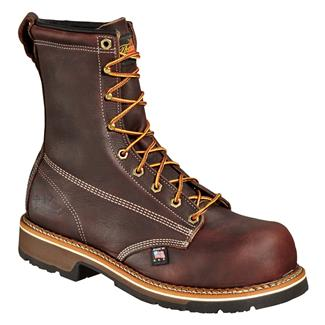 "Thorogood 8"" American Heritage Emperor Toe CT Brown Walnut"