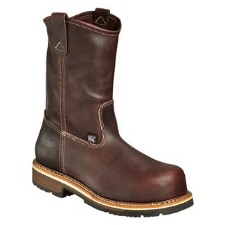 Thorogood American Heritage Emperor Toe Wellington CT Brown Walnut