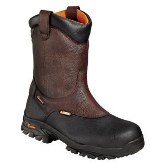 "Thorogood 8"" Z-Trac Wellington CT WP Brown / Black"