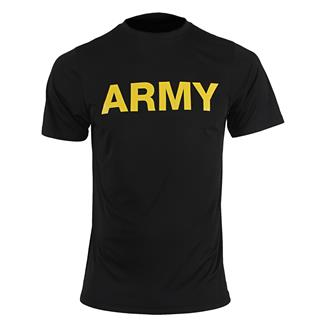 Soffe Army PT T-Shirt Black