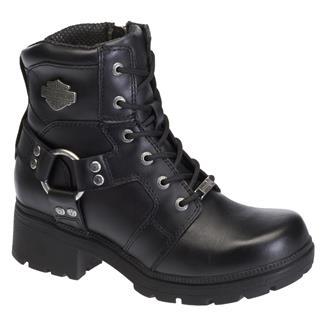 Harley Davidson Footwear Jocelyn Side-Zip Boots