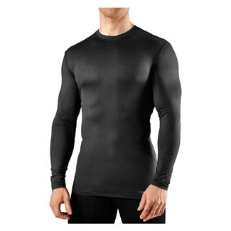 Tommie Copper Long Sleeve Recovery Compression Crew Neck T-Shirt Black