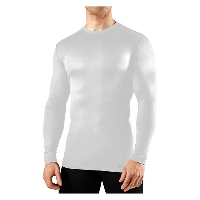 Mens Tommie Copper Long Sleeve Recovery Compression Crew Neck T