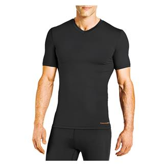 Tommie Copper Recovery Compression V-Neck T-Shirt Black