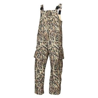 Rocky Waterfowler Bib Overalls Mossy Oak Shadow Grass Blades