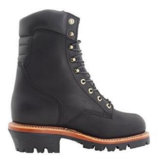 "Chippewa Boots 9"" Super Logger 400G ST WP Black Oiled"
