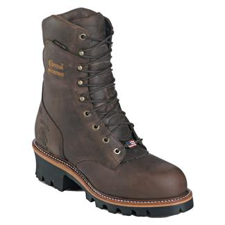 "Chippewa Boots 9"" Super Logger 400G WP Bay Apache"