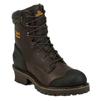 "Chippewa Boots 8"" Logger 400G CT WP Chocolate Oiled"