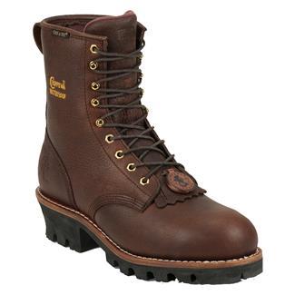 """Chippewa Boots 8"""" Logger 400G ST WP Briar Oiled"""