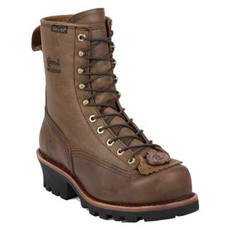 "Chippewa Boots 8"" Paladin Lace-to-Toe ST WP Bay Apache"