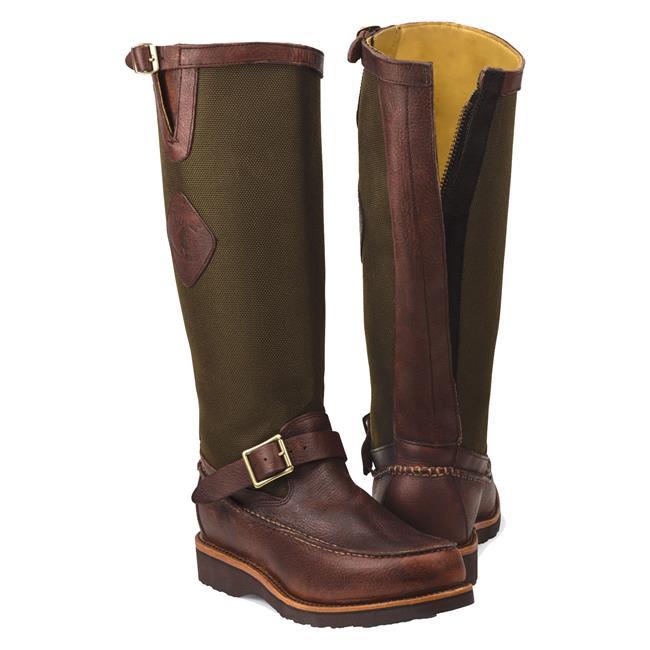 Men S Chippewa Boots 17 Quot Cutter Snake Boots Workboots Com