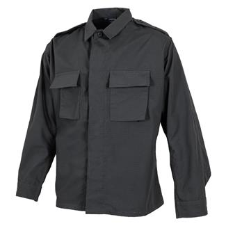 propper-poly-cotton-ripstop-ls-2-pocket-bdu-shirts-dark-gray
