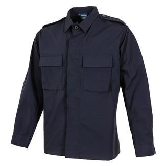 propper-poly-cotton-ripstop-ls-2-pocket-bdu-shirts-dark-navy