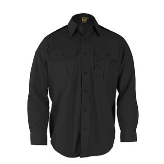 Propper Long Sleeve Tactical Dress Shirts Black