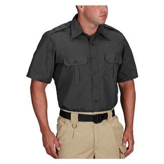 Propper Short Sleeve Tactical Dress Shirts Dark Grey