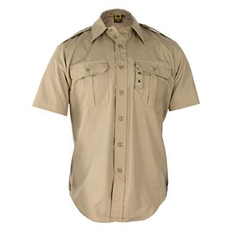 Propper Short Sleeve Tactical Dress Shirts Khaki