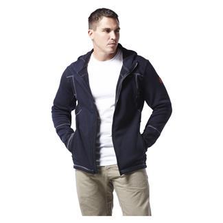 Justin FR Polartec Fleece FZ Hoodie Navy
