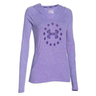 Under Armour Freedom Tri-blend Hoodie Deep Orchid / High-Vis Yellow