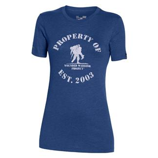 Under Armour HeatGear Property of WWP T-Shirt American Blue / White