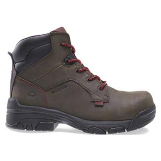 "Wolverine 6"" Merlin ESD CT Dark Brown"