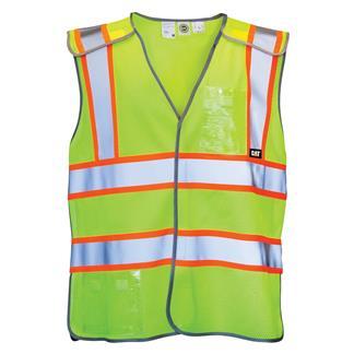 CAT 5 Point Breakaway Safety Vest Hi-Vis Yellow