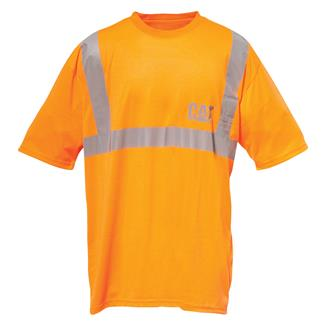CAT Hi-Vis T-Shirt Hi-Vis Yellow Hi-Vis Orange