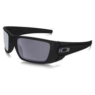Oakley SI Fuel Cell Thin Blue Line Blue-Black (frame) - Gray (lens)