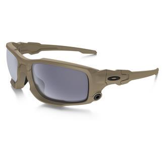 Oakley SI Ballistic Shocktube Terrain Tan (frame) - Gray (lens)
