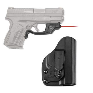 Crimson Trace LG-469-HBT Laserguard with IWB Holster Red Black