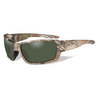 Wiley X Rebel Realtree XTRA Camo (frame) - Polarized Smoke Green (lens)