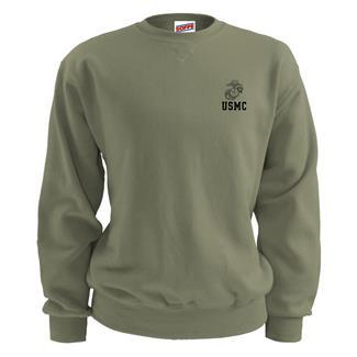 Soffe Marine Corps Sweatshirt Olive Drab