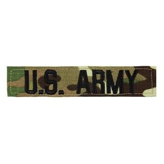 U.S. Army Branch Tape Scorpion OCP Black
