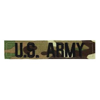 U.S. Army Branch Tape Scorpion OCP Black
