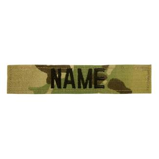 Name Tape Scorpion OCP Black