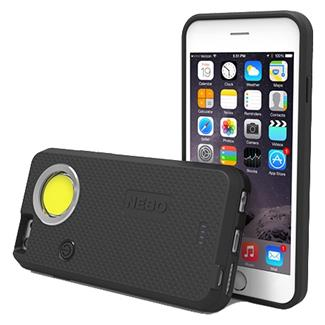 Nebo CaseBrite iPhone 6/6S Plus Case Black
