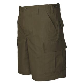 TRU-SPEC Cotton Ripstop BDU Shorts (Zip Fly) Olive Drab