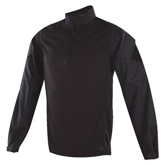TRU-SPEC Poly / Cotton 1/4 Zip Urban Force Combat Shirt Black