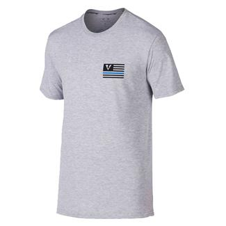 Oakley Thin Blue Line T-Shirt Heather Gray