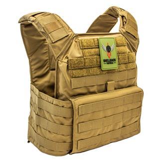 Shellback Tactical Banshee Rifle Plate Carrier Coyote Tan