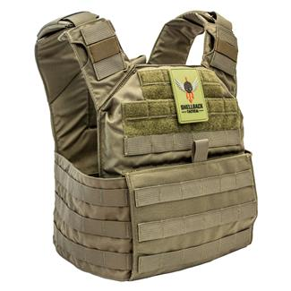 Shellback Tactical Banshee Rifle Plate Carrier Ranger Green