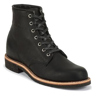 "Chippewa Boots 6"" Aldrich Black Odessa"