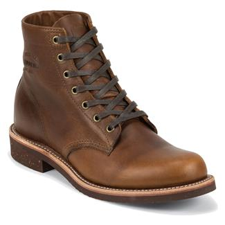 "Chippewa Boots 6"" Aldrich Tan Renegade"