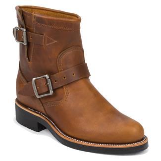 "Chippewa Boots 7"" Original Engineers Tan Renegade"