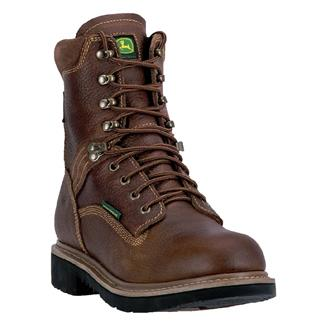 "John Deere 8"" All Around WP Toasted Wheat Gaucho Brown"